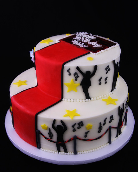 Dance Party Cake Images : Red Carpet Dance Party Cake Flickr - Photo Sharing!