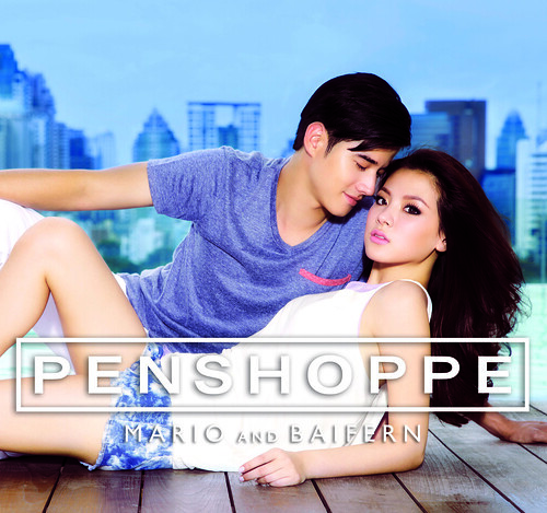 mario and baifern for penshoppe ad