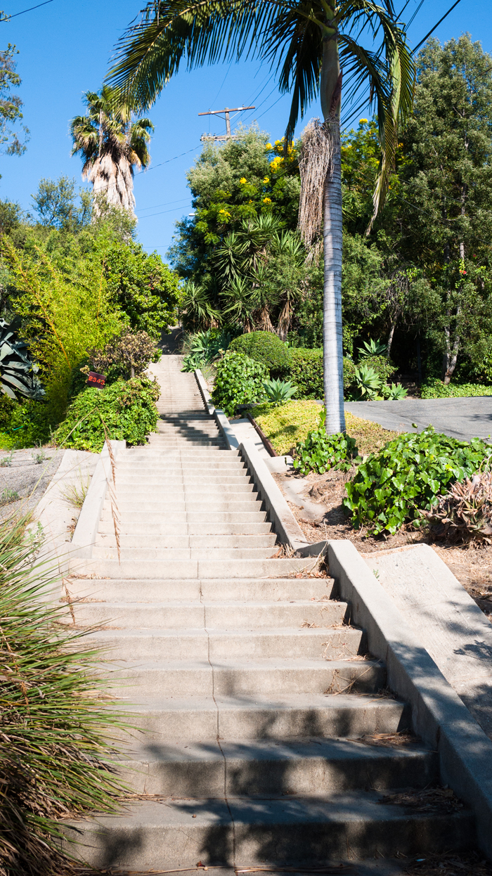 Silver Lake Los Angeles Stairs