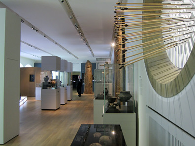 View inside the exhibition