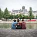 Icecream by the Seine, redux by Mister Rad