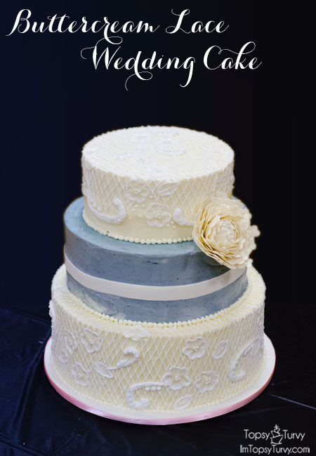 Wedding Cake Lace Buttercream
