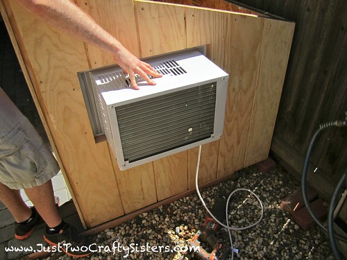 Installing an cooler in our dog house