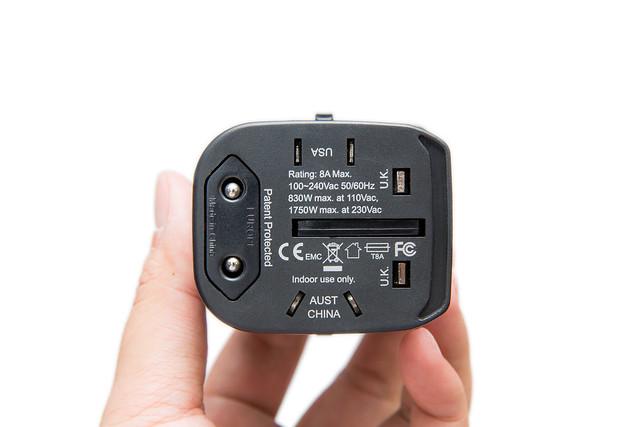 旅行必備!『插頭轉接 + USB 充電』二合一 @3C 達人廖阿輝