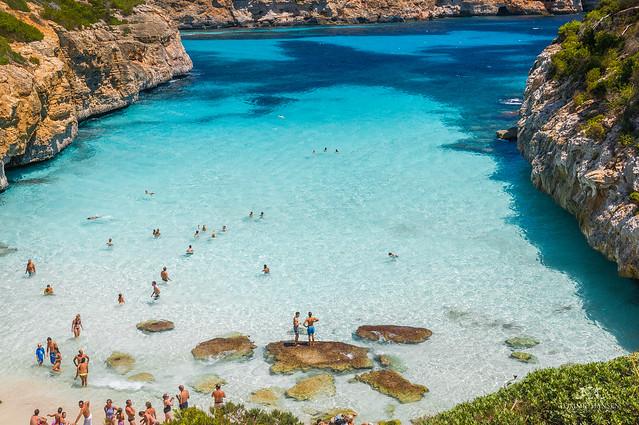 12 calas que parecen una piscina natural en islas mallorca for Piscinas naturales begur