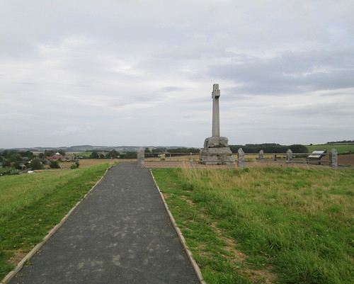 Flodden Memorial from path