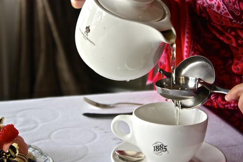 first tea pour at 1865