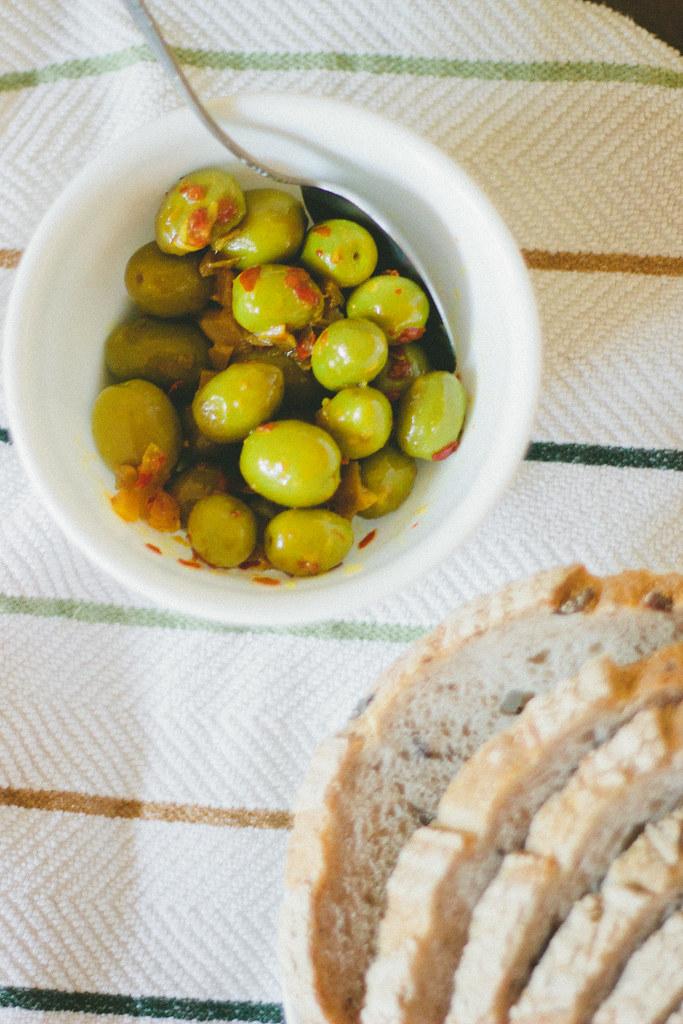 {tunisian marinated olives}