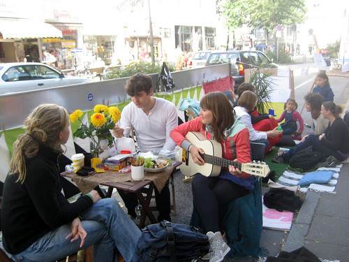 Park(ing) Day, Hamburg, Germany (by: EURIST e.V., creative commons)