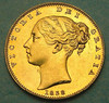 1838 Gold sovereign