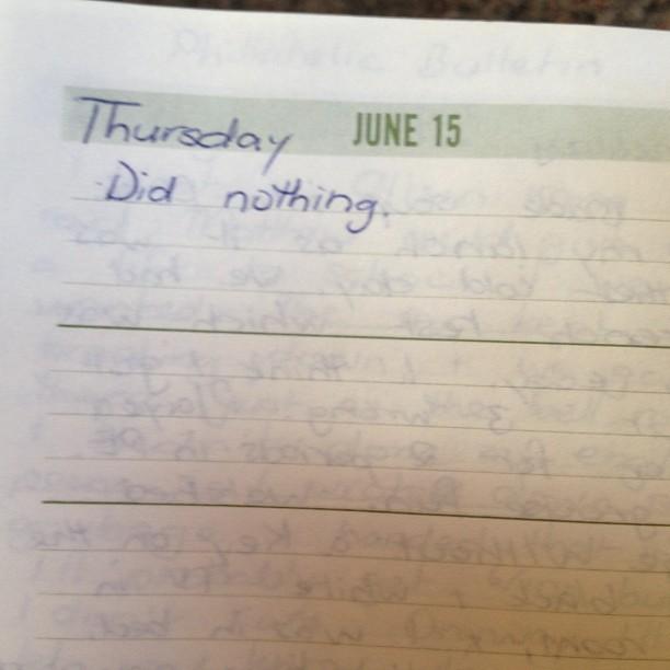 1978 diary