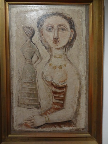 Two Women, by Massimo Campigli. (1943).