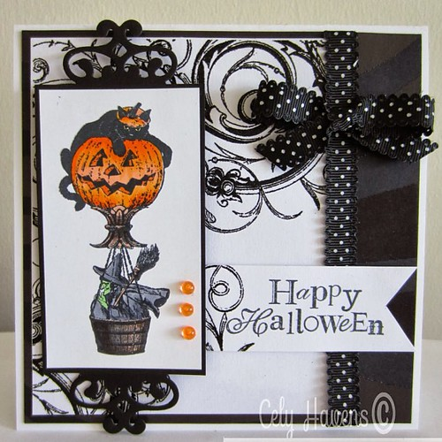 , Cely Havens created this super cute card video in the blog today, our black and white line is one sale ooo, www.chatteringrobins.blogspot.com #cardmaking #jackolantern #classified #halloween #sincitystamps #robinsnestscrap, My cartoon Blog, My cartoon Blog