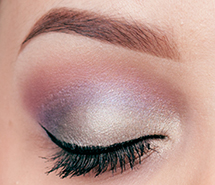 Get the Look with Stila's In the Garden - eye closed