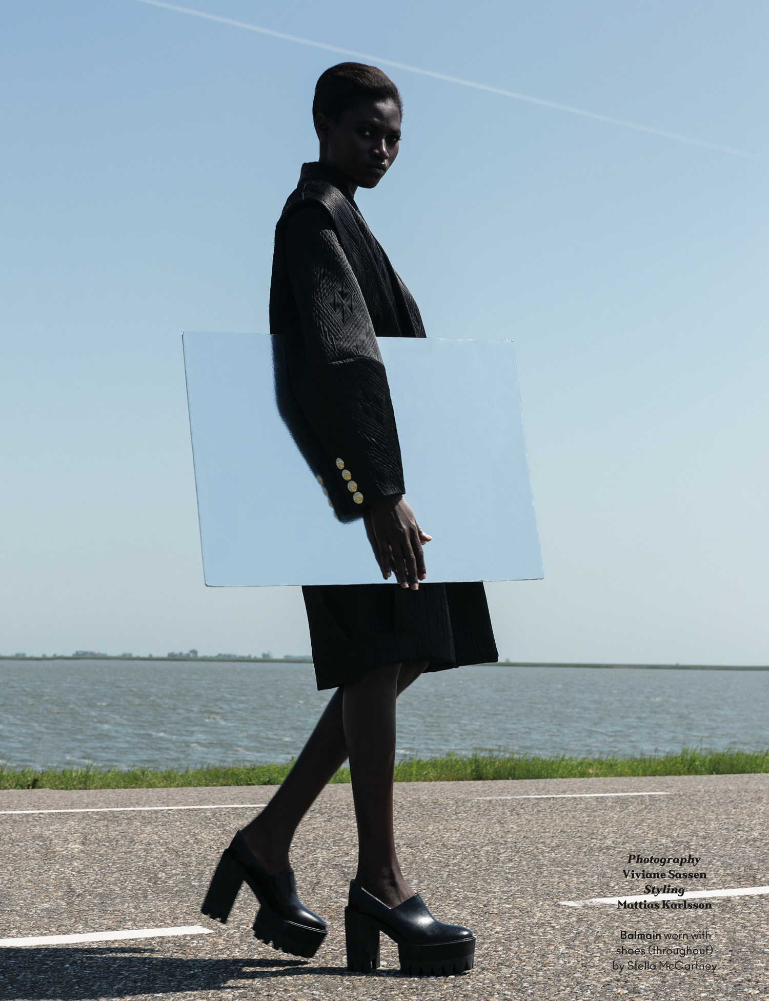Kinée Diouf by Viviane Sassen (It's My Turn - AnOther Autumn-Winter 2013) 3