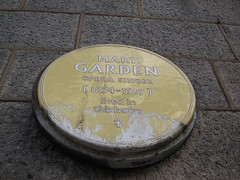 Photo of Mary Garden yellow plaque