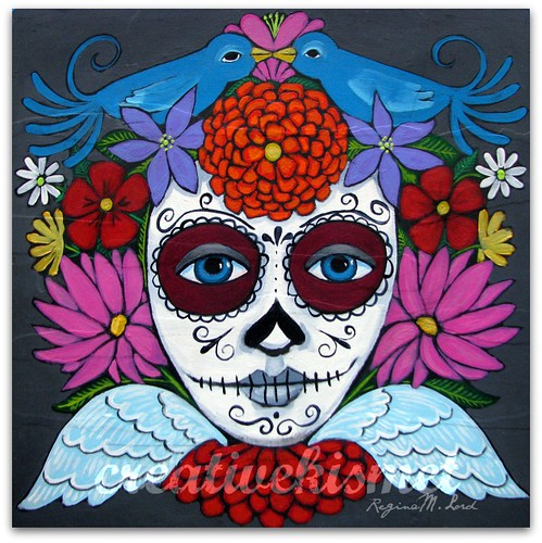 Day of the Dead art by Regina Lord