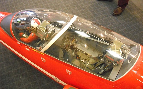 Red Arrow Cockpit