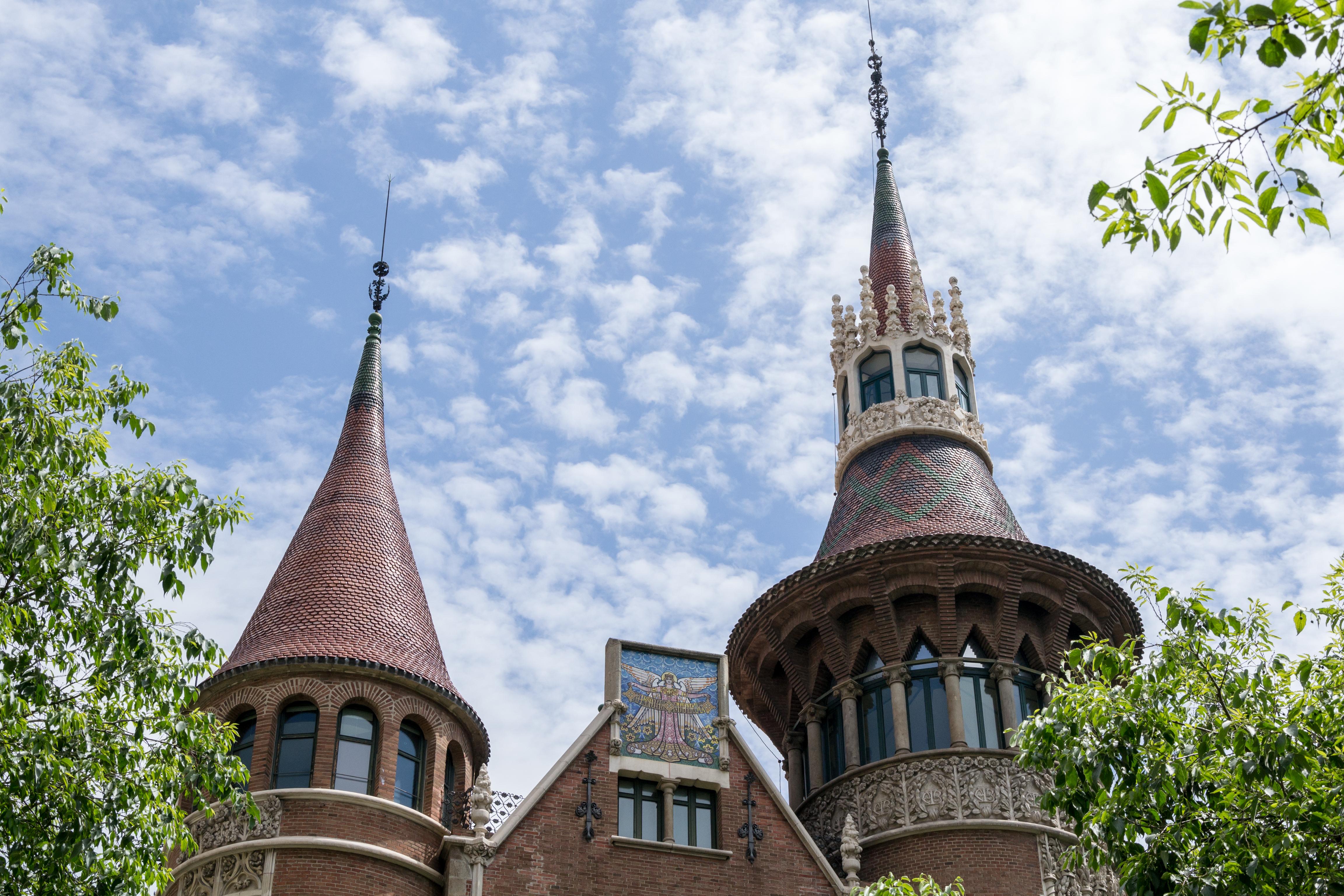 Casa de les Punxes, Barcelona, Spain