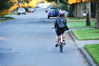Eleni rides home alone-1