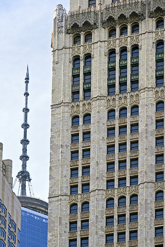 World Trade Center and Woolworth Building by jankor