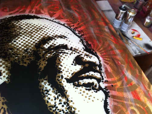 I HAVE A DREAM/// NOT ALL WARS >> YES DISARMAMENT by STENCILNOIRE