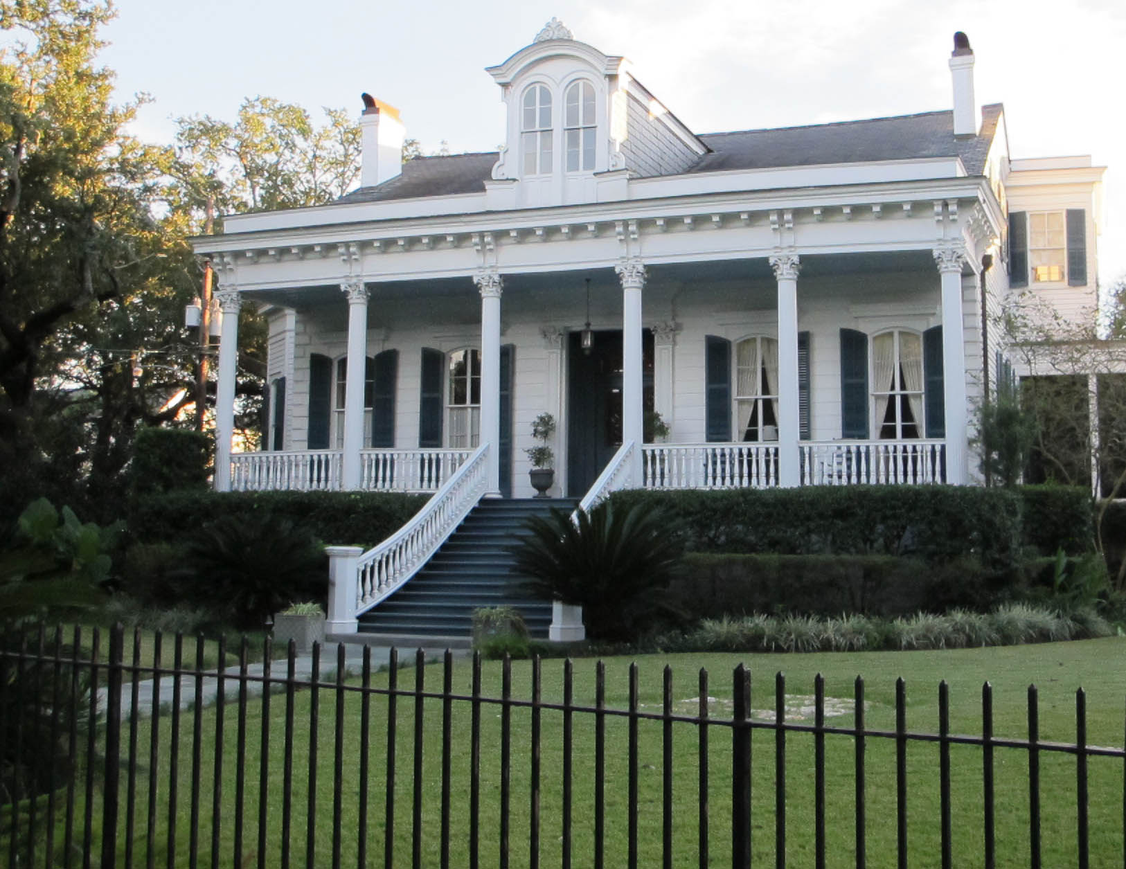 See the beautiful homes of the Garden District