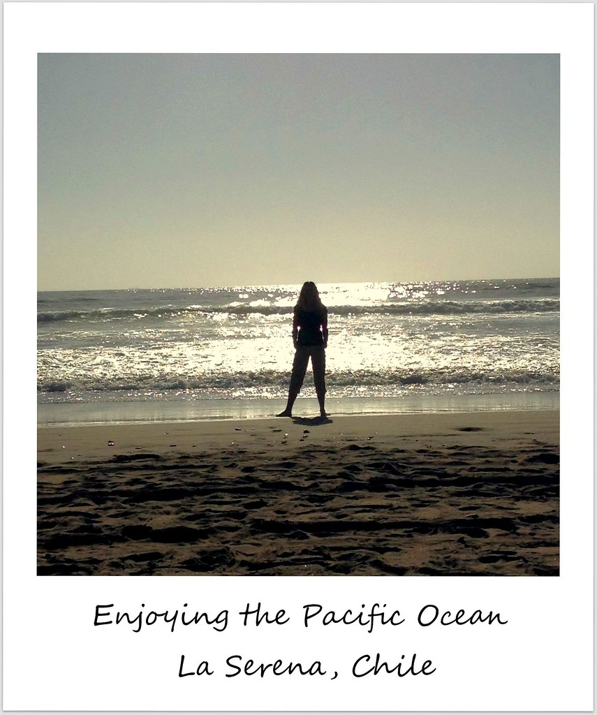 polaroid of the week chile la serena beach