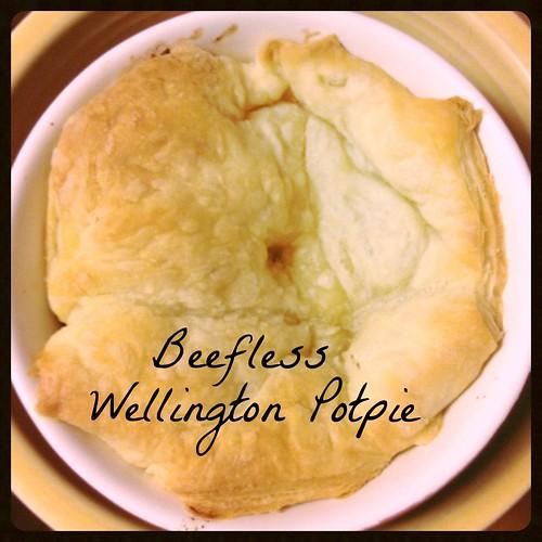 Beefless Wellington Potpie