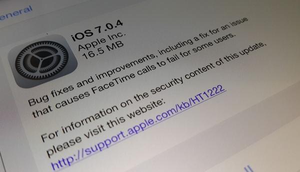 iOS 7.0.4 и iOS 6.1.5