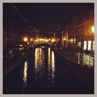 Leiden by night (Netherlands 2013)