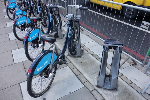 倫敦的公共自行車