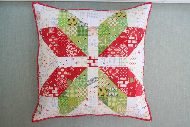Christmas Snowflake Pillow