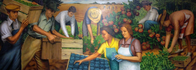 Crystal Springs Post Office Mural