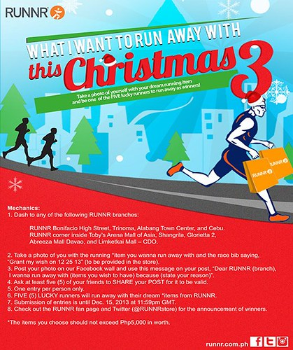 RUNNR_What I Want to RUN Away with this Christmas online promo