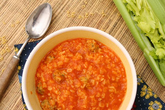 tomato soup meatballs 8
