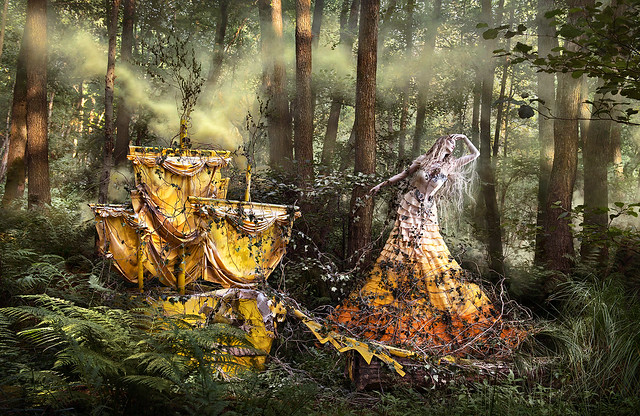 Kirsty Mitchell - Wonderland - 'She'll Wait For You In The Shadows Of Summer'