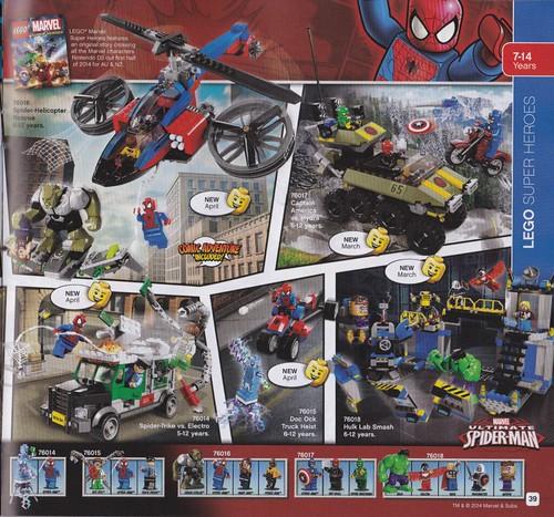 LEGO Marvel Super Heroes 2014