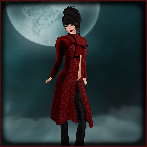 AvaGirl - Chic Trench Coat Fatpack by Orelana resident