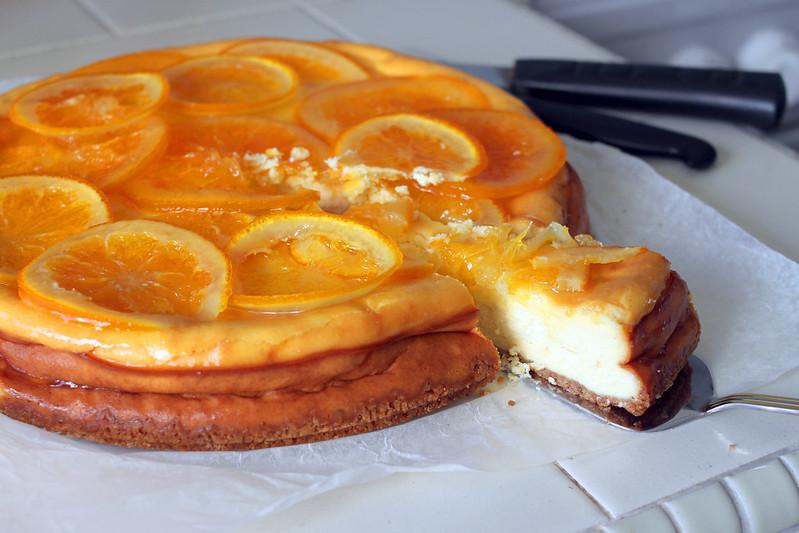 Caramelized Orange Cheesecake – Pickled Peas