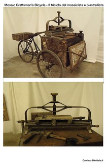 Cargo Bike History: Mosaic Craftsman's Bicycle