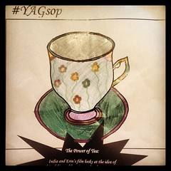 Make Etin and India's tea cups even more fancy... @mcmanusdundee - tag your work with #YAGsop to @YAGmcmanus