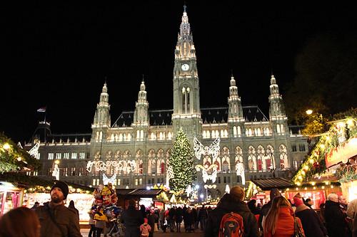 Christkindlmarkt Rathaus