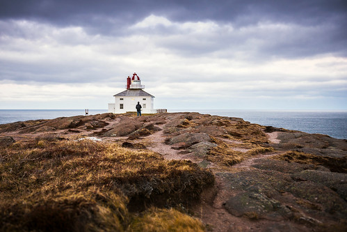 cold at Cape Spear lighthouse