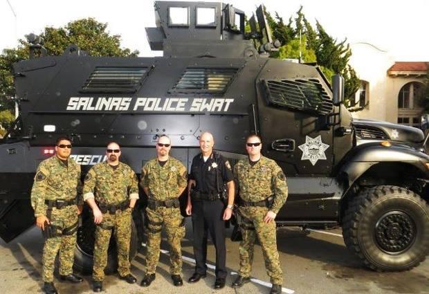Salinas Police Swat