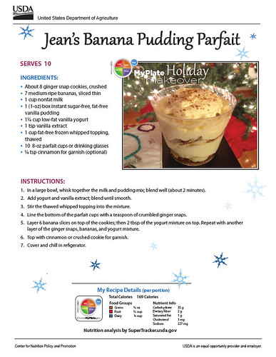 Jean's Banana Pudding Parfait recipe
