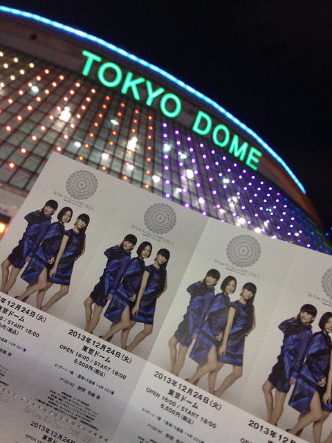 perfume tokyo dome day1