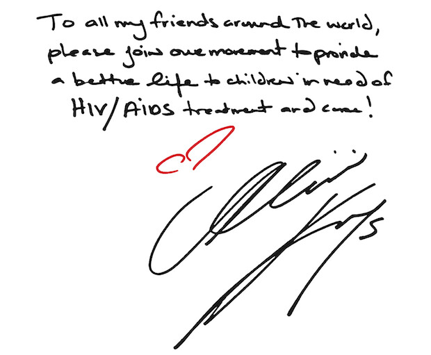 A message from Alicia Keys