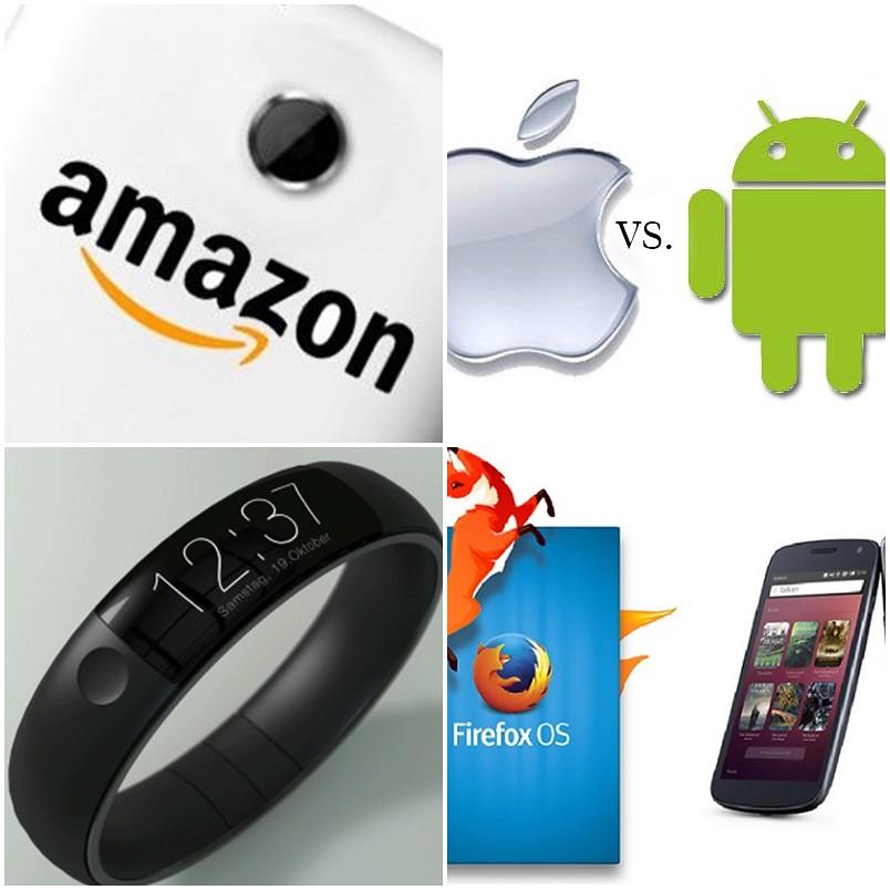최신 스마트폰의 특징 및 2014년 트렌드 전망 - 'Startup's Story Platform'
