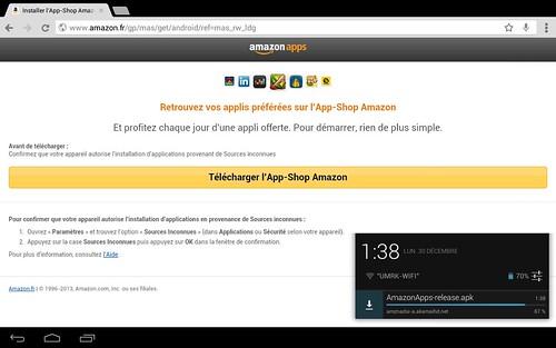 The Cave Amazon App shop